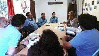 Avanzan con el abordaje de la temática de seguridad en Villa Los Coihues