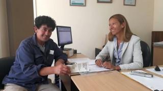 Se realizó reunión con referente de la Junta Vecinal del Barrio Arrayanes para abordar diversas problemáticas