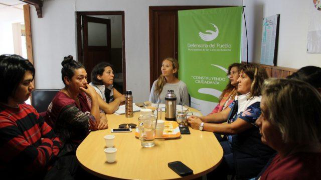 Reunión por reclamos  respecto a las condiciones laborales y la seguridad de jóvenes alojados en el CAINA