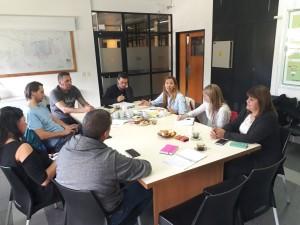 Referentes de organismos se reunieron para darle tratamiento a temáticas relacionadas con Saneamiento, Planificación, y Previsibilidad Urbana