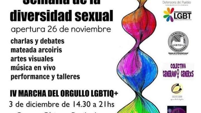 Invitamos a participar de la Semana de la Diversidad Sexual y Marcha del orgullo LGBTIQ
