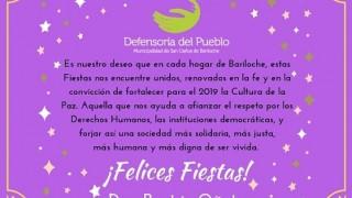 Mensaje de Fin de Año de la Defensoría del Pueblo de Bariloche
