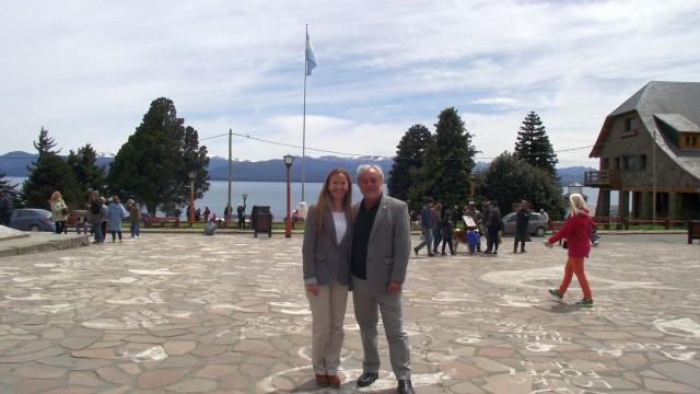 La Defensora del Pueblo de Bariloche, la Dra. Beatriz Oñate, recibió la visita de su par de Neuquén, el Dr. Ricardo Riva